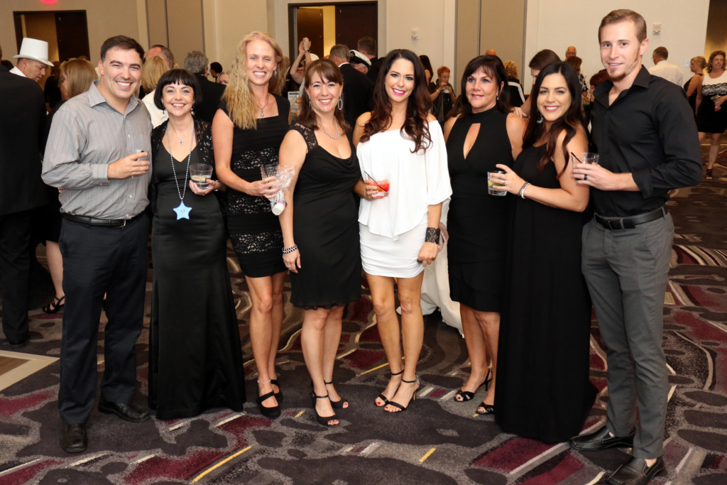 RASM members pictured at the 2018 Casino Night event.