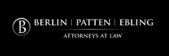 Logo for Berlin Patten Ebling, attorneys at law.