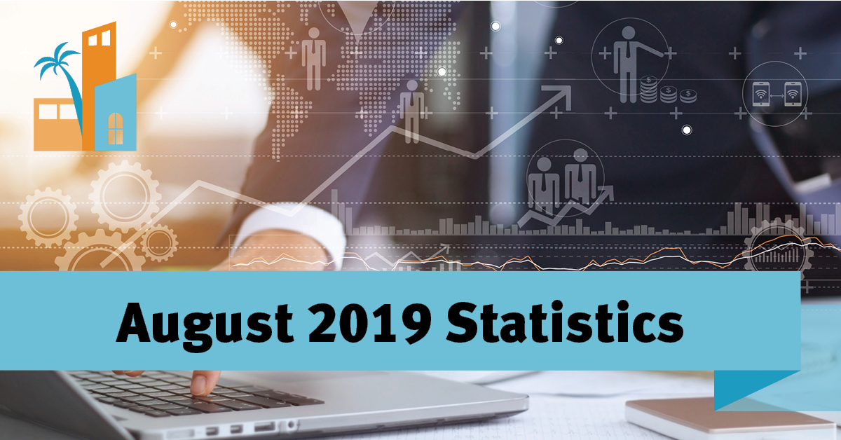 August 2019 Stats